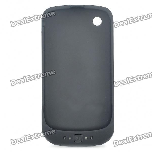 Rechargeable 2000mAh Backup Battery Case for Blackberry 8520/9300 - Black (Actual 1400mAh)