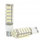 T10 4W 68-SMD 0502 LED 270LM 6000-6500K White Light Bulbs for Car (2-Piece Pack)