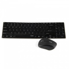 Rapoo E9060 2.4GHz Wireless 101-Key Keyboard 1000DPI Mouse w/ Receiver Combo (2 x AA/2 x AA)