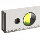 Alliage professionnel 600mm magnétique aluminium souverain w / 3 Bubble Spirit Level Gradienters