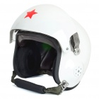 Vintage Aviation Safety Helmet - Random Color