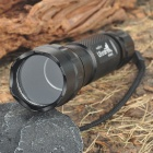 Ultrafire Flashlight Aluminum Alloy Casing/Shell/Housing with Strap - Black