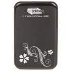 "Aluminum Alloy USB 3.0 2.5"" SATA HDD Enclosure - Black"