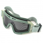 Tactical Metal Mesh Protective Goggles for War Game (Random Color)