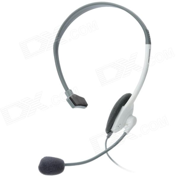 Stylish Headset for XBox 360 - Grey от DX.com INT