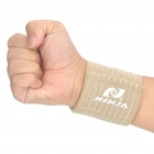 NINJA Adjustable Protective Sports Elastic Wrist Support Brace - Yellow (Size-M/Pair)