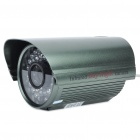 Water Resistant IR Surveillance Security Camera with 36-LED Night Vision - Dark Green (4mm Lens)