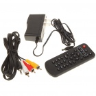 NBOX N36 1080P Full HD Android 2.2 Network Media Player w/ 2 x USB/SD/HDMI/LAN/Spdif/AV - Black