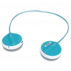 Rapoo H3050 2.4GHz Wireless Stereo Headset Headphone with Microphone & Transmitter - Blue