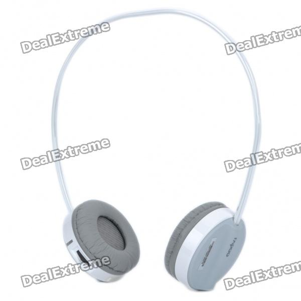 Rapoo H3050 2.4GHz Wireless Stereo Headset Headphone with Microphone & Transmitter - Grey