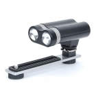 Double-Head 6000K White LED Digital Photo & Video Lamp