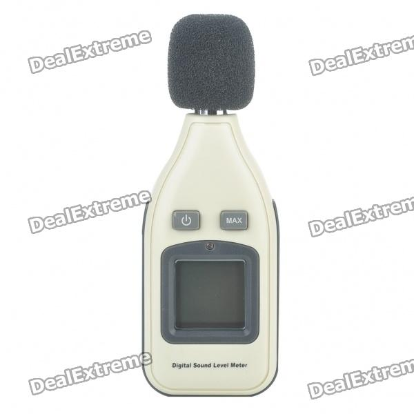 "Portable 1.5"" LCD Digital Sound Level Meter - Grå ( 1 x 9V )"