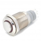 Car Stainless Steel Switch w/ Red Indicator (DC 12V)