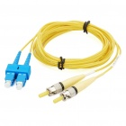 ST-SC Multimode Duplex Fiber Optic Patchkabel Jumper-Kabel (3-Meter)