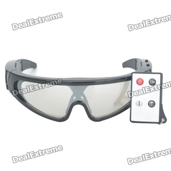 720P USB Rechargeable Pin-Hole Spy Camera Camcorder w/ Remote Control/TF Disguised as Goggles