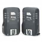 PIXEL KING RX Wireless E-TTL Flash Trigger Transmitter Receiver for Set Canon DSLR (2 x AA/2 x AA)