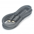 JEVIT 3D HDMI V1.4 Male to Male M/M Connection Cable - Black (160cm-Length)