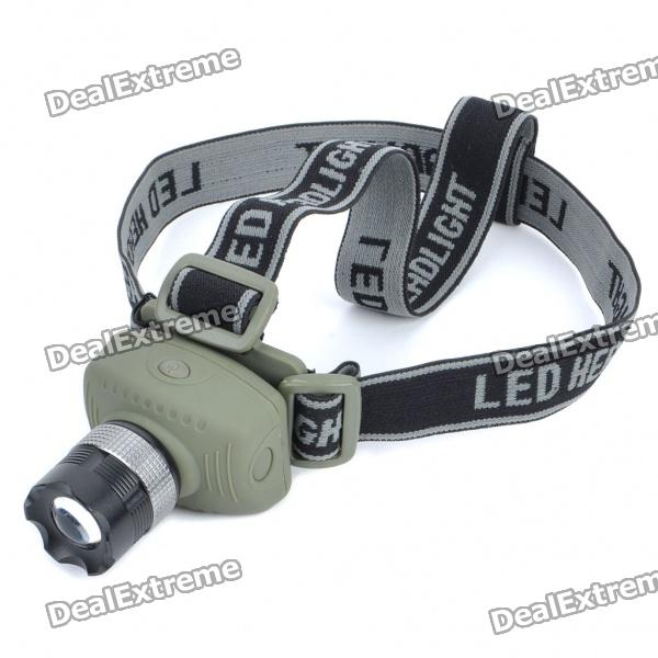 Focus-Adjustable 140-Lumen 3-Mode White LED Headlamp (3 x AAA)