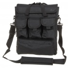 "Outdoor Water Resistant One-Shoulder Bag for 14"" Laptop Notebook - Black"