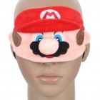 Cute Mario Style Eye Shade - Red + Pink
