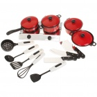 Simulation Mini Kitchenware Cooking Toys Tool Set (13-Piece Pack)