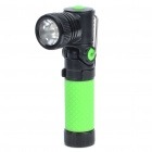 Stylish 310-Lumen 3-Mode LED Flashlight - Adjustable Angle (1x14500/1xAA)