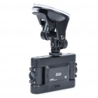 "DOD V650 5MP Dual Lens Wide Angle Car DVR Camcorder w/ 8-IR LED Night Vision/SD (2"" TFT LCD)"