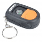 Mini 20X Jewelers Loupe Magnifier with Compass & White 1-LED Illuminating Light (3xLR1130)