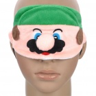 Cute Mario Style Eye Shade - Pink + Green