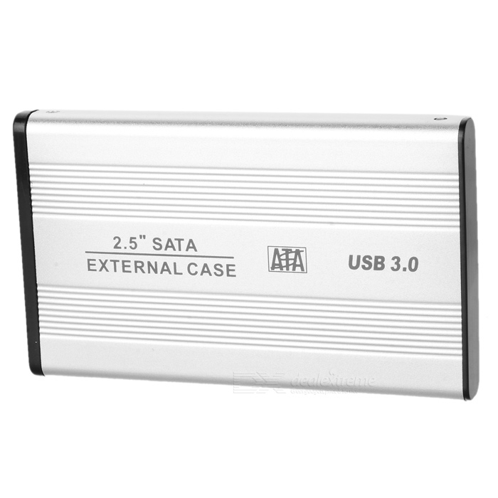 "USB 3.0 2.5"" SATA HDD Enclosure - Silver"