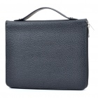 Fashion Protective PU Leather Bag Case for iPad/iPad 2 - Black