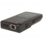 V50 Portable Mini Rechargeable Multi-Media Player Project w/ AV/Mini USB/SD Slot - Black