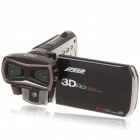 5.0MP Dual Camera 3D/2D Video Camcorder w/ HDMI/AV-Out/USB/SD (3.2