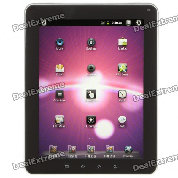 "GS30 9,7 ""IPS Capacitive Screen Android 2.3 Tablet w / Bluetooth / HDMI / Kamera / USB OTG (4G TF)"
