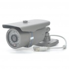 Water Resistant IR Surveillance Security Camera with 36-LED Night Vision - Dark Grey (12mm Lens)