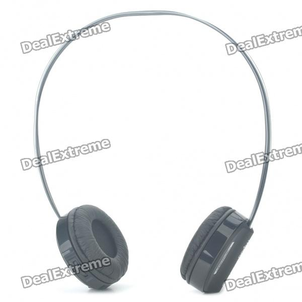 Rapoo H6020 Wireless Bluetooth V2.1 Handsfree Stereo Headset Headphone with Microphone - Black