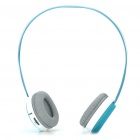 Rapoo H6020 Wireless Bluetooth V2.1 Handsfree Stereo Headset Headphone with Microphone - Blue