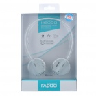 Rapoo H6020 Wireless Bluetooth V2.1 Handsfree Stereo Headset Headphone with Microphone - Grey