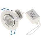 3W Warm White 3-LED 90-100Lumen Ceiling Lamp Light