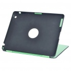 Protective Aluminum Alloy Back Case for Ipad 2 - Green