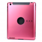 Protective Aluminum Alloy Back Case for Ipad 2 - Deep Pink