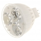 MR16 3W Warm White 3-LED 200-Lumen Nano Ceramic Spot Light Bulbs