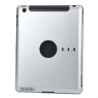 Protective Aluminum Alloy Back Case for Ipad 2 - Silver