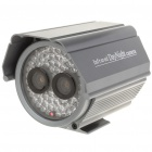Dual CCD Water Resistant IR Surveillance Security Camera w/ 60-LED Night Vision - (8mm Lens)