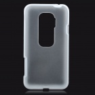 Protective Matte Frosted Back Case for HTC EVO 3D - White