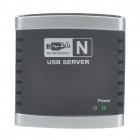 Network USB 2.0 Server with Hub Support for USB Printer/USB Webcam/USB Speaker