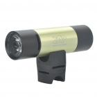 Multifunction 1W 3-Mode 130-Lumen LED Flashlight with MP3 Music Speaker Player/FM/TF - Light Green
