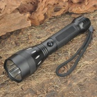 Cree Q3 310-Lumen 3-Mode LED Flashlight - Black (1x18650)