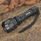 Cree Q5 270-Lumen 3-Mode LED Flashlight - Black (1x18650)