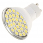 GU10 5.5W 6500K 360-Lumen 30-5050 SMD LED White Light Bulb (AC 85~265V)
